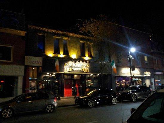 Saint Laurent Boulevard : Irish Pub