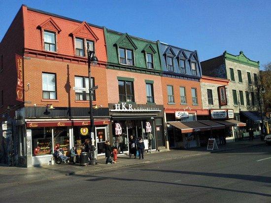 Saint Laurent Boulevard : Schwartz