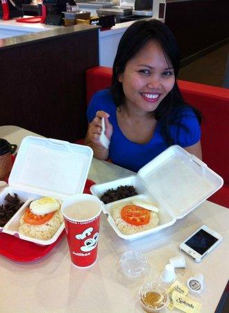 Breakfast Of Tapa And Garlic Rice