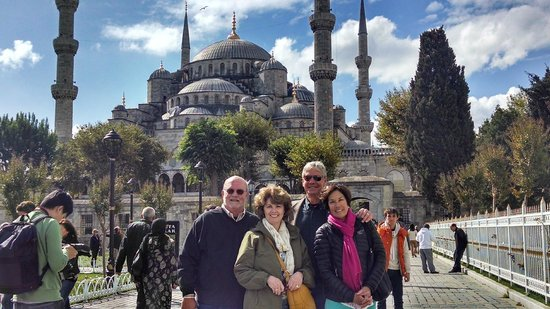 Istanbul Custom Tours-Private Day Tours : All four