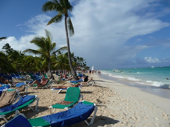 Hotel Riu Palace Punta Cana: plage