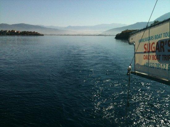 Sugar's Boat Tours: The vieuw