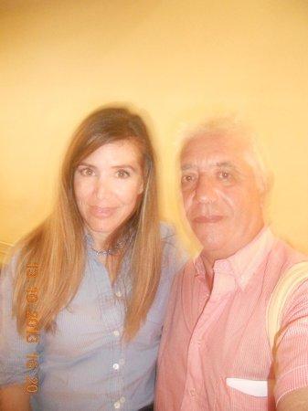 Sharon Hotel : photo avec  la manager  nilli hason