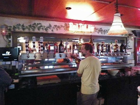 Olde Saratoga Brewing Company: The long line of taps