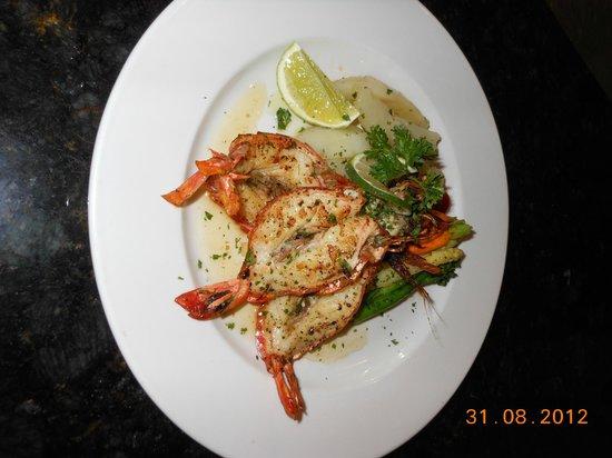 The Lighthouse Restaurant: caribbean lobster tail