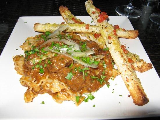 Casa Colina: Wild Boar ragout with pasta