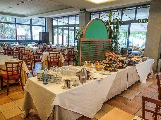 Los Lanceros Hotel : Sala ristorante/colazione
