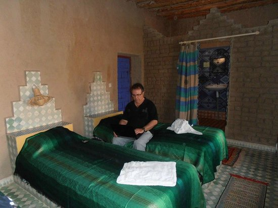Kasbah Hotel Panorama : En la primera cama no pude dormir ya que el colchon hacia pendiente y me caía