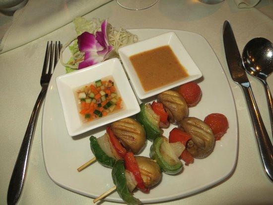 Siam Thai & Teppanyaki Restaurant : Mushroom Satay