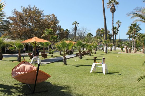 Indian Springs Resort and Spa: Grounds / games area