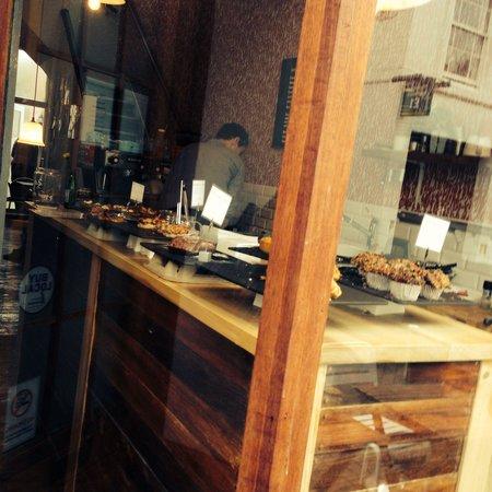Pop Up Cafe: Outside