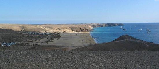 THB Tropical Island: Drister meg til et bilde fra Playa Papagayo :-)