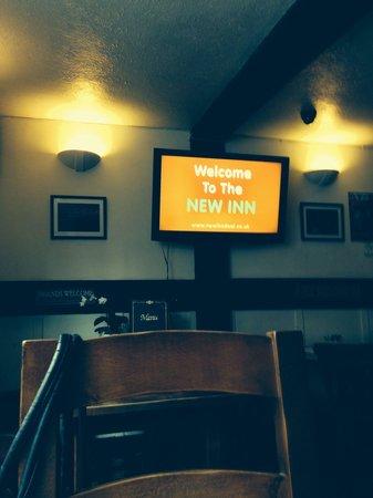 The New Inn: Inside