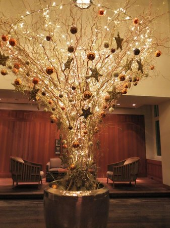 Park Hyatt Hamburg: Lobby, X-Mas decor