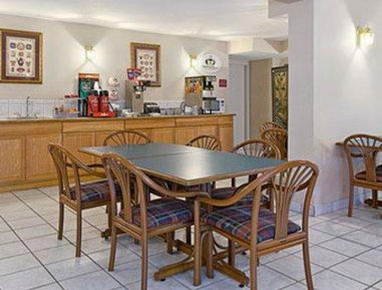 Super 8 Oxford: Breakfast Area