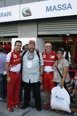 Autodromo Nazionale Monza : Saying hello to our friends....