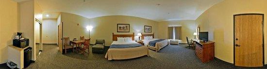 Comfort Inn & Suites Blue Ridge: Double Queens