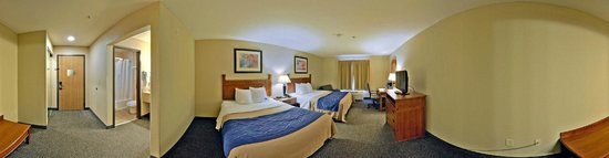 Comfort Inn & Suites Blue Ridge: Double Kings