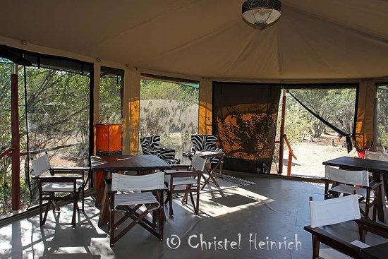 Mara Bush Camp - Private Wing: Fotolounge