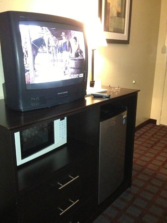 Econo Lodge Woodstock: TV, microwave, fridge...