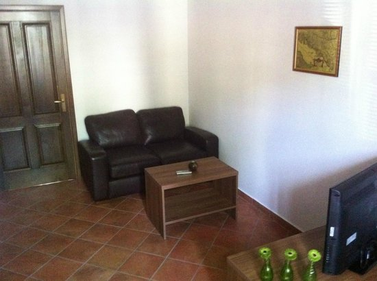 Partizanska 6: One Bedroom Apartment Sitting Area