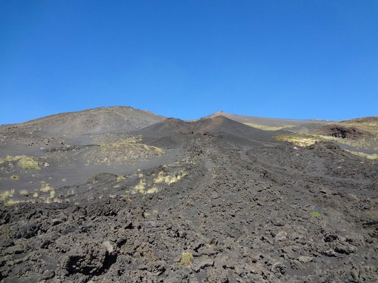 Etna People: Etna lava field