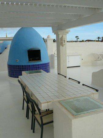 Katis Villas Boutique Fuerteventura: Parte superior (barbacoa)