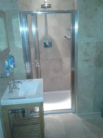 Glen Mhor Hotel & Apartments : walkin shower