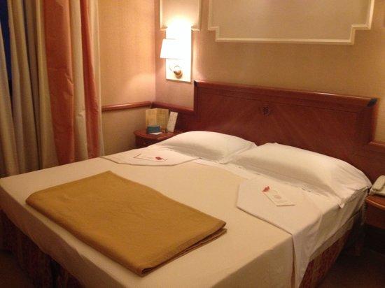Ambra Palace Hotel : Cama casal