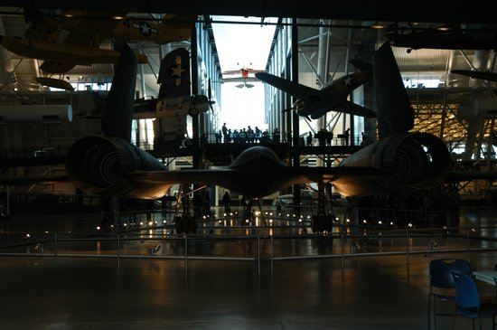 Smithsonian National Air and Space Museum Steven F. Udvar-Hazy Center: SR-71 incredible