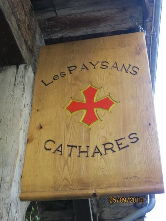 Hotel Restaurant Les Minotiers: Emblema Cataro MIREPOIX