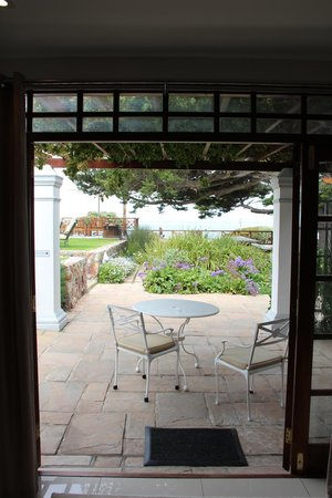 Harbour House Hotel: patio