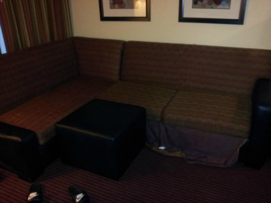 Homewood Suites by Hilton Anaheim-Main Gate Area: Living Room Sectional