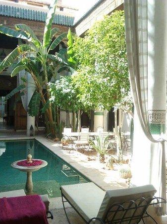 Riad Slitine: Zwembad Slitine
