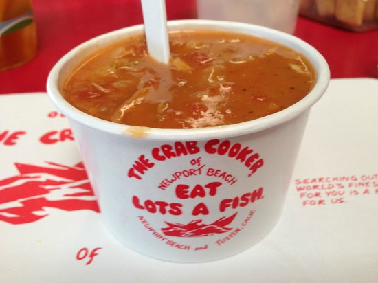 Crab Cooker Restaurant: clam chowder