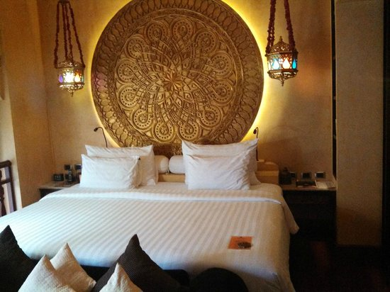 The Baray Villa: Our bedroom was an absolute haven of luxury