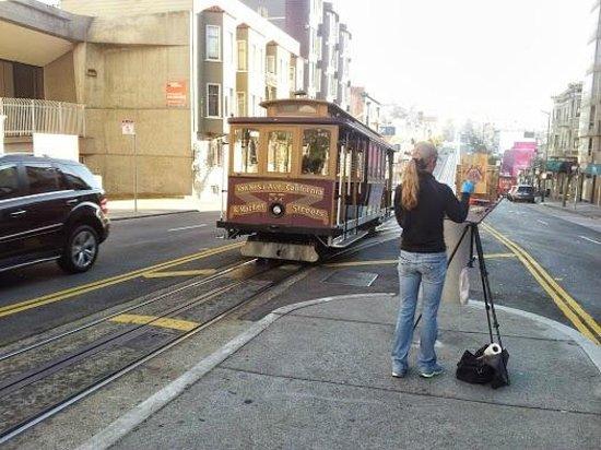 Holiday Inn San Francisco Golden Gateway : capolinea cable car