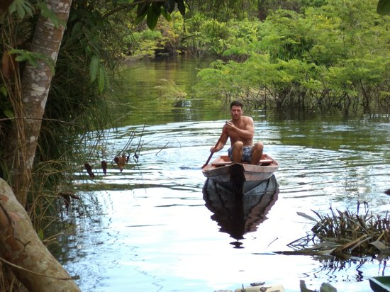 Anaconda Amazon Island: Canoe