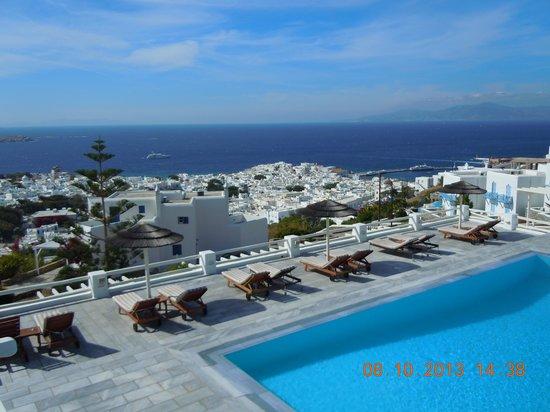 Alkyon Hotel : Θέα από το ξενοδοχείο