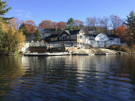 Rocky Crest Golf Resort : From the Paddle boat