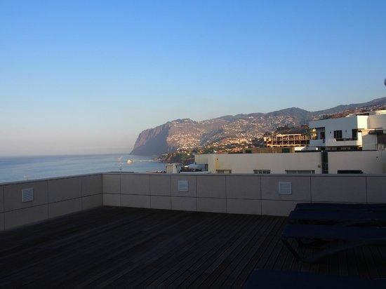 Golden Residence : Vue depuis la grande terrasse de l'immeuble C