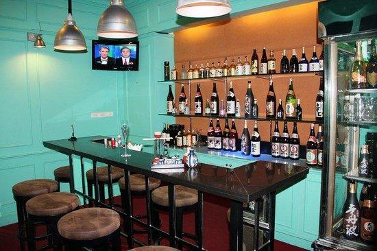 โรงแรมชาเทรียม ย่างกุ้ง: Sake Bar At The Ritz
