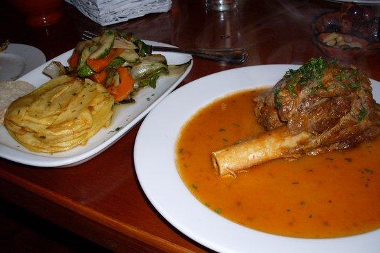 Restaurant de Portugees: lamb shank