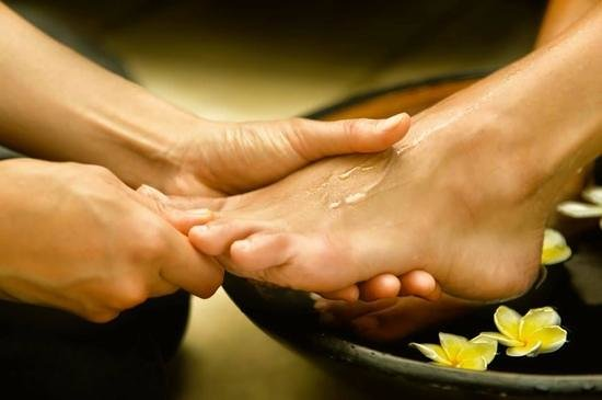 Natural Palm Day Spa: Foot Spa