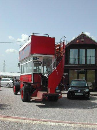 Burnaston, UK: vintage transport