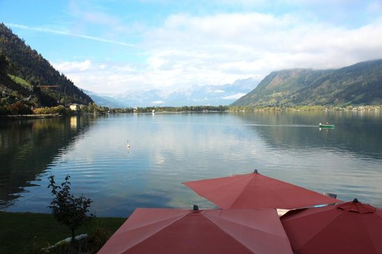 Seevilla Freiberg: The lake setting