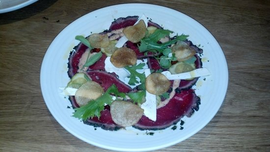 Forage: Bison Carpaccio