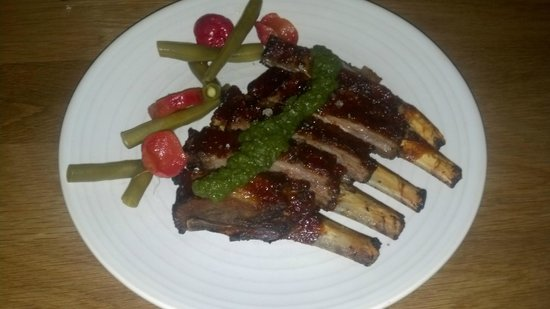 Forage: Lamb Ribs