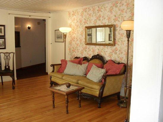 Quaint parlor at The Wayside Inn