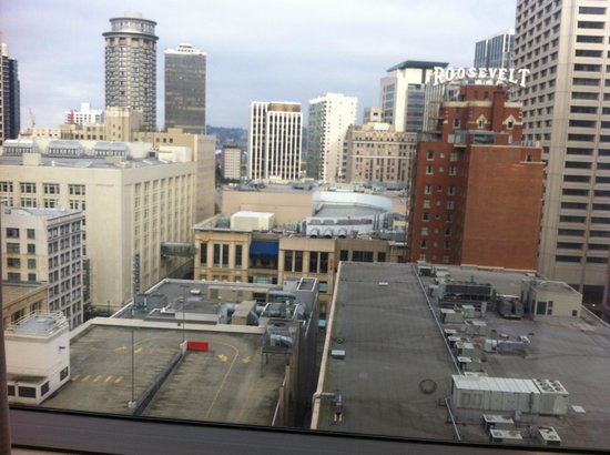 Sheraton Seattle Hotel : The view from the room